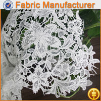 new fashion textile 100 %polyester guipure chemical lace fabric high ponytail full lace wigs