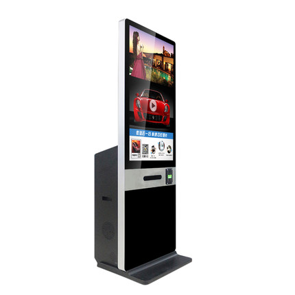 42 inch High quality metal case interactive touch screen kiosk machine