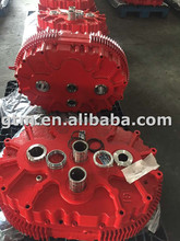Fast delivery agricultural gearbox for conveyor