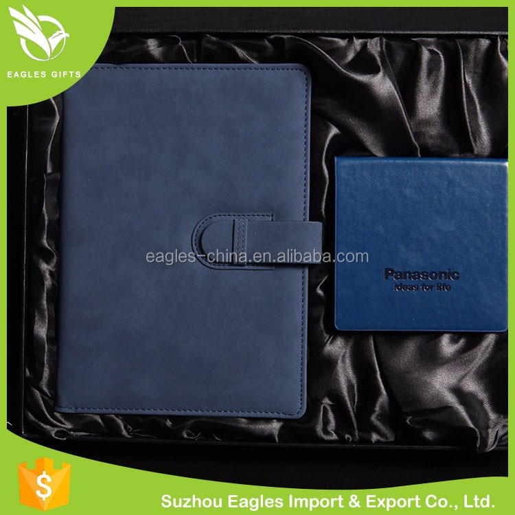 Custom Printing Diary Stand A5 PU Leather Notebook
