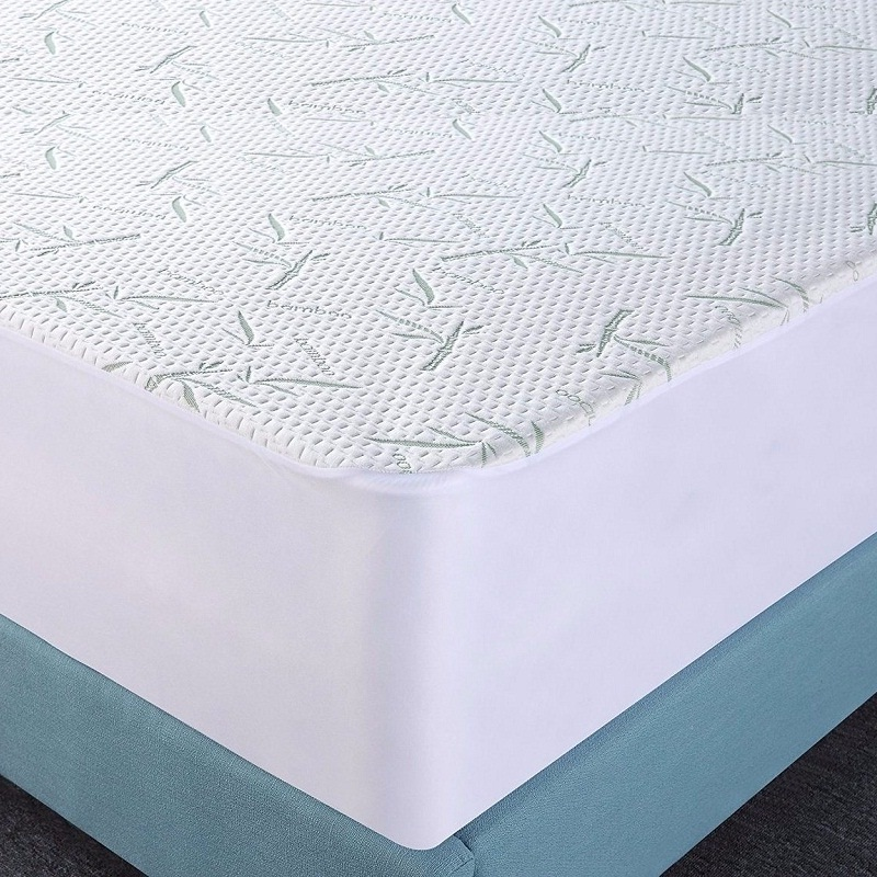 Luxurious Rayon From 100% Organic Bamboo Mattress Protector Pad - Jozy Mattress | Jozy.net