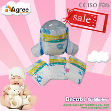 economic breathable sleepy diaper with PE film made in China
