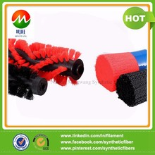 PA66 roller brush crimped filament