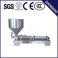 Supplying good quality horizontal pneumatic sour cream filling machine factory price with CE