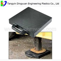 best price 100% virgin ticona materal uhmwpe board /heavy duty hdpe plastic crane outrigger pads distributors
