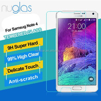 Trustworthy china supplier ,super guard lcd screen protector for Samsung Note 4