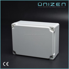 Unizen China supplier waterproof electrical plastic junction box price 100*100*75mm