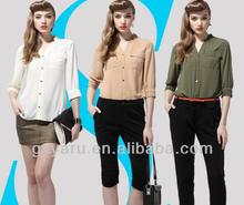2013 Office Uniform Designs for Women Pants and Blouse