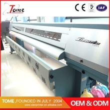3.2m outdoor infiniti large format solvent printer for flex