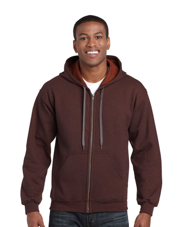 18700 VINTAGE CLASSIC ADULT FULL ZIP HOODED SWEATSHIRT
