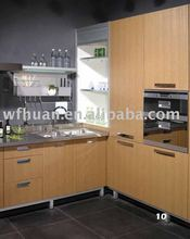 2013 new design pvc kitchen cabinet
