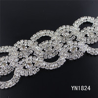 fancy high quality crystal rhinestone chain