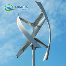 Wind driven generator 10- 50 KW AC windmill with 5 blades, 24V/48V used in land and boat