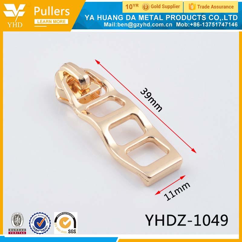bag zipper puller