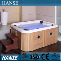 HS-094C 3 persons outdoor hydrotherapy cheap chinese hot tub spa