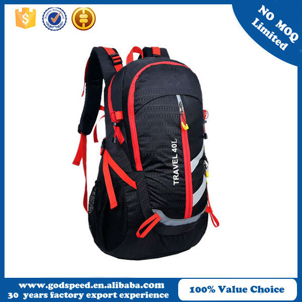 China supplier wholesale high quality fashion durable travel backpack