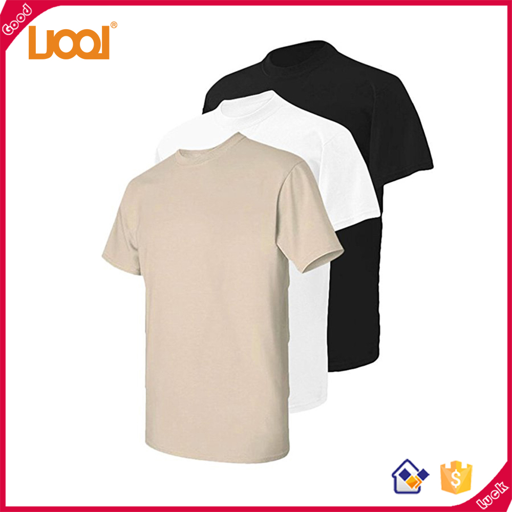 Wholesales Selling Well Cotton/Bamber Fiber Variety Pure Color Sweatproof Dry Fit T Shirt