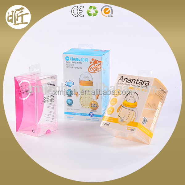 Hot sale soft crease auto bottom plastic dates packaging boxes