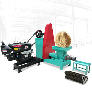 Best selling wood briquette machine screw press/wood sawdust briquette machine