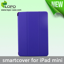 Cheap price sublimation smart flip case for iPad mini