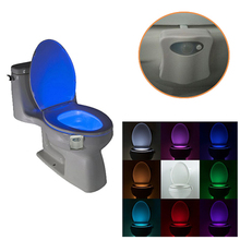 In Stock Now Toilet Bowl Light, Motion Activated Toilet Nightlight, Motion Sensor Light