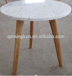 Marble Top : Marble Top Wood Leg Oval Table - Buy Marble Top Oval Table,Marble Top ...
