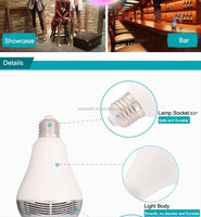 Bluetooth LED Bulb speaker Colorful light