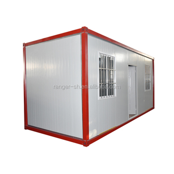 China High quality 20 40ft prefab container house homes nz