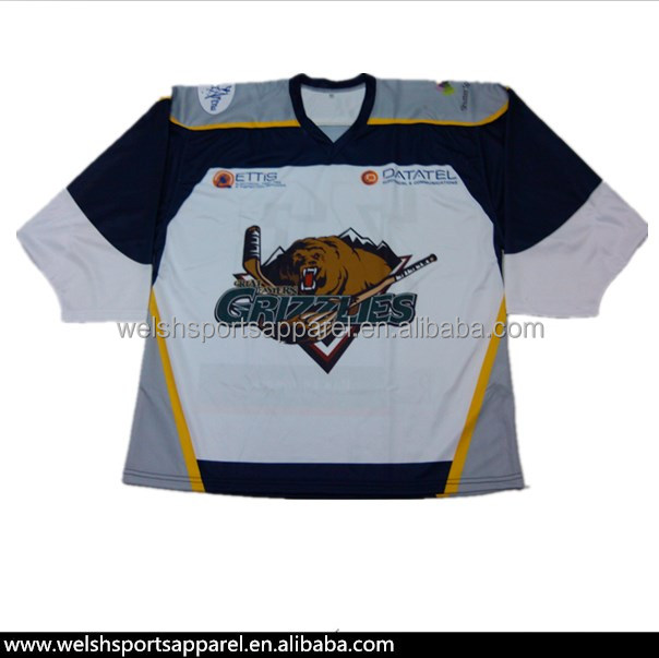 High Quality Custom Design Canada Team Ice Hockey Shirts