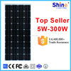 2016 new style monocrystal 150w solar panel with CE certificate