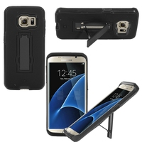 Hybrid Shockproof PC+Silicone Combo High Grade Hard Cover Mobile Phone Case For Samsung Galaxy S7 Edge
