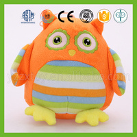 China best made colorful plush owl stuffed toy for gifts