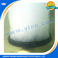 Aeration disc air diffuser for sewage treatment