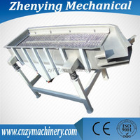 China Hot sale industrial electric linear vibrating screen sieve