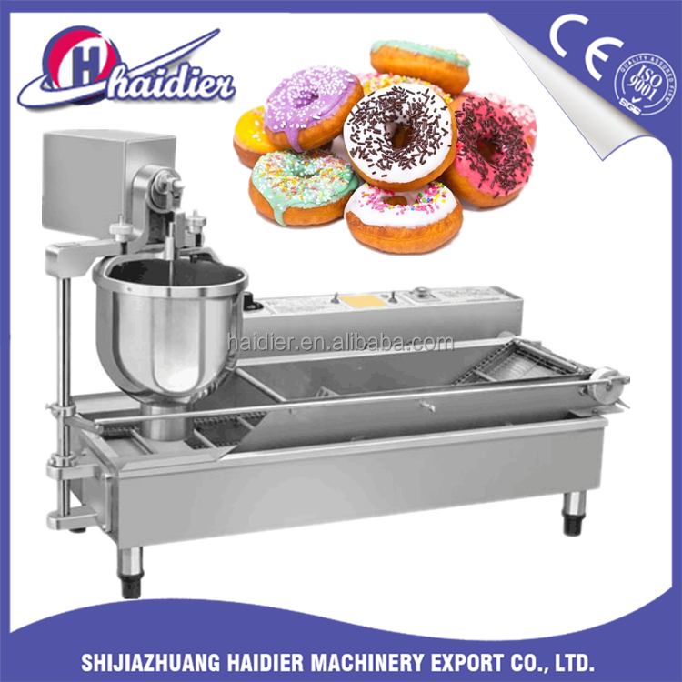 Cheap Price Automatic Donut Machine Production Line/Mini Making Donut Machine