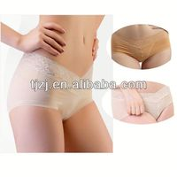 Far infrared shiny panties for women