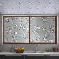 Removable PVC static cling privacy window film high quality with factory price