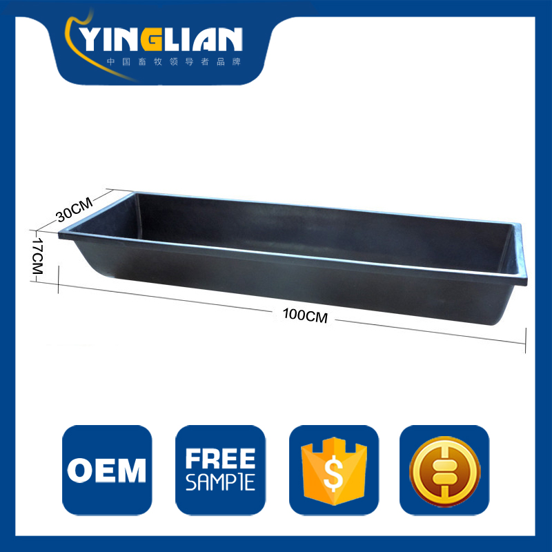 Factory Supply Plastic Horse Pig Sheep Feed Water Trough