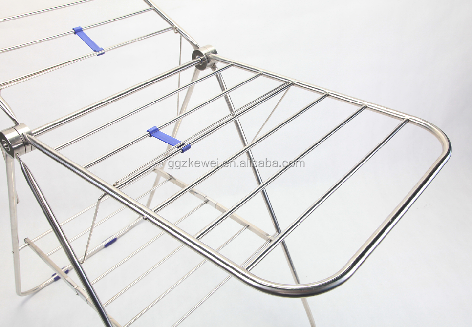 Stainless Steel Foldable Clothes Dryer Rack baby cloth hanger rack MR-5015C