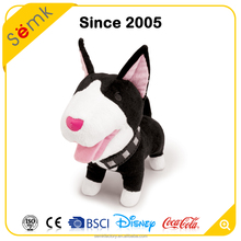 Cute design stand animal stuffed plush human doll toys with custom logo