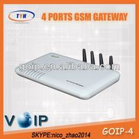 TYH Gevey 4 Port Gsm VoIP Gateway 4 Channel GoIP Gsm Gateway Free Tech Support