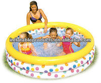 PVC inflatable round baby pool for family