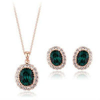 Wholesale Plated Gold African Jewelry Sets 18K