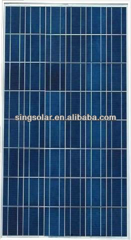 190W High efficiency home solar cell price india solar panel kit