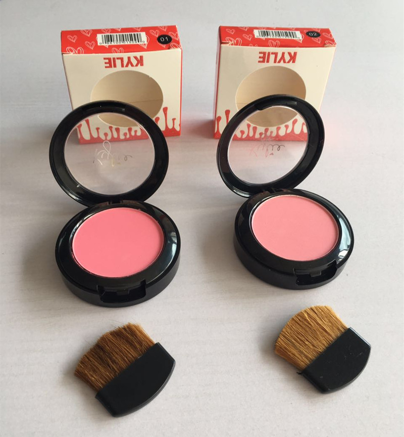 Lowest Price / Hot New Makeup Kylie Sheertone Powder Blush 6g 8 color by DHL, TNT, AMX