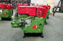 186ed double cycle series water cooled electric start slow speed small diesel engine 35hp