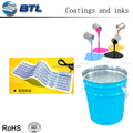 Good adhesion and excellent rubber resistance silicone printing base