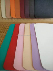 Pu leather with no smell for footwear and good durable in china