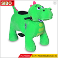 SIBO Coin operated push walking animal ride on electric car kids