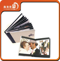 Pictorial printing service with hardcover book printing